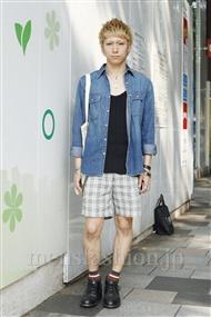 ファッションコーディネート原宿・表参道 2011年06月 マサヲさん