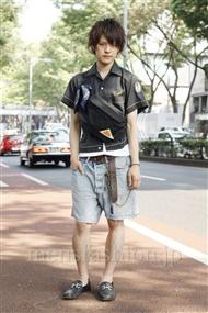 ファッションコーディネート原宿・表参道 2011年06月 松下雄一郎さん