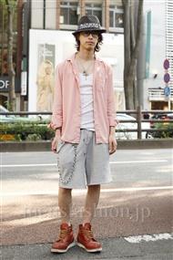 ファッションコーディネート原宿・表参道 2011年06月 押久保 翔さん