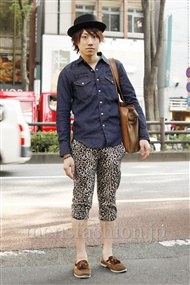 ファッションコーディネート原宿・表参道 2011年06月 田中誠太朗さん