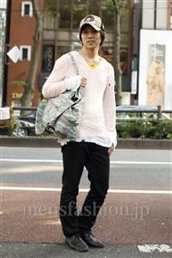 ファッションコーディネート原宿・表参道 2011年06月 甲斐紀行さん