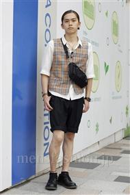 ファッションコーディネート原宿・表参道 2011年06月 小西 涼さん