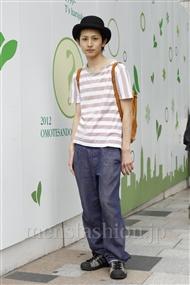 ファッションコーディネート原宿・表参道 2011年06月 清水孝太さん