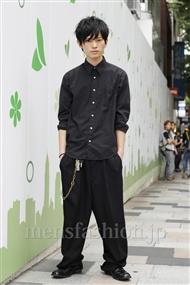 ファッションコーディネート原宿・表参道 2011年06月 鈴木将義さん