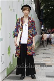 ファッションコーディネート原宿・表参道 2011年06月 工藤巧真さん