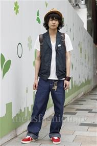 ファッションコーディネート原宿・表参道 2011年06月 木内裕太さん