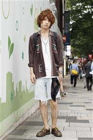 ファッションコーディネート原宿・表参道 2011年06月 常川寛介さん