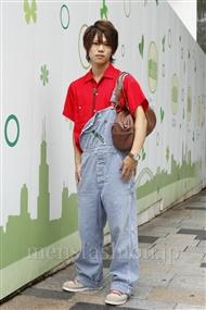 ファッションコーディネート原宿・表参道 2011年06月 夏川登志郎さん