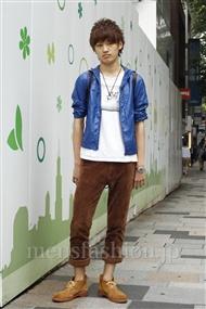 ファッションコーディネート原宿・表参道 2011年06月 上野晃宏さん
