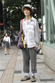 ファッションコーディネート原宿・表参道 2011年06月 カガラー シュンさん