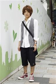 ファッションコーディネート原宿・表参道 2011年06月 塚越雄喜さん
