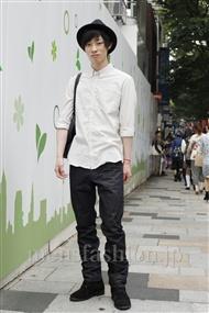 ファッションコーディネート原宿・表参道 2011年06月 安田博紀さん