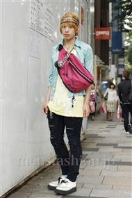 ファッションコーディネート原宿・表参道 2011年06月 忍者レッドいけちゅーさん