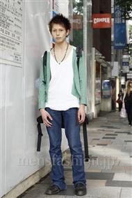 ファッションコーディネート原宿・表参道 2011年06月 渡邊大樹さん