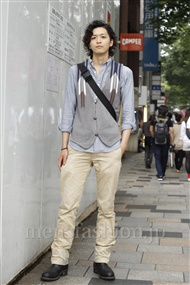 ファッションコーディネート原宿・表参道 2011年06月 岩館裕太さん