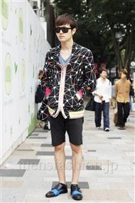 ファッションコーディネート原宿・表参道 2011年06月 稲毛貴与司さん