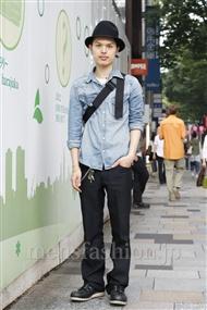 ファッションコーディネート原宿・表参道 2011年06月 青山清志さん