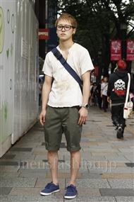 ファッションコーディネート原宿・表参道 2011年06月 廣田和之さん