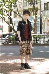 ファッションコーディネート原宿・表参道 2011年07月 入廣 諒さん