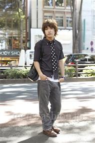 ファッションコーディネート原宿・表参道 2011年07月 川島達郎さん
