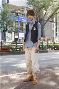 ファッションコーディネート原宿・表参道 2011年07月 上野晃宏さん