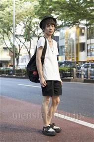ファッションコーディネート原宿・表参道 2011年07月 上野 亮さん