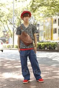 ファッションコーディネート原宿・表参道 2011年07月 夏川登志郎さん