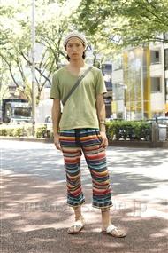 ファッションコーディネート原宿・表参道 2011年07月 中嶋時男さん