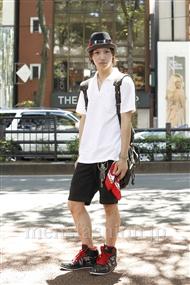 ファッションコーディネート原宿・表参道 2011年07月 吉川大樹さん