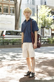 ファッションコーディネート原宿・表参道 2011年07月 松金祐大さん