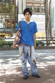 ファッションコーディネート原宿・表参道 2011年07月 高木進之介さん