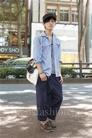 ファッションコーディネート原宿・表参道 2011年07月 鈴木将義さん