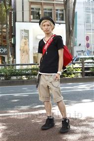 ファッションコーディネート原宿・表参道 2011年07月 後藤ユースケさん