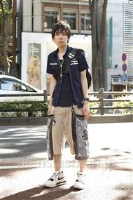 ファッションコーディネート原宿・表参道 2011年07月 青木健真さん