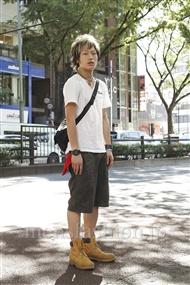 ファッションコーディネート原宿・表参道 2011年07月 江崎将大さん