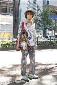 ファッションコーディネート原宿・表参道 2011年07月 カガラシュンさん
