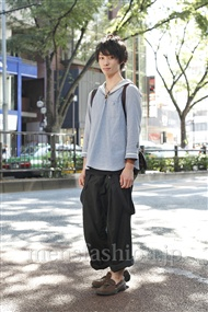 ファッションコーディネート原宿・表参道 2011年07月 安田博紀さん