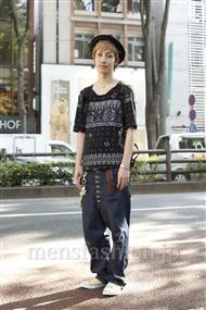 ファッションコーディネート原宿・表参道 2011年07月 七五三掛慎二さん