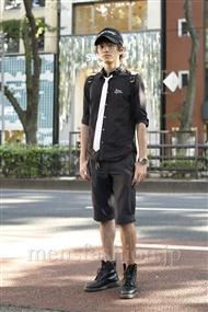 ファッションコーディネート原宿・表参道 2011年07月 原口隆嗣さん