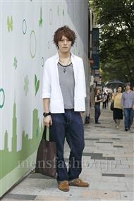ファッションコーディネート原宿・表参道 2011年07月 キムさん