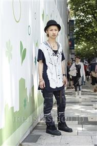 ファッションコーディネート原宿・表参道 2011年07月 宮澤北斗さん
