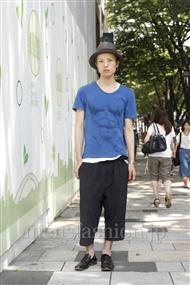 ファッションコーディネート原宿・表参道 2011年07月 目時考康さん