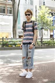 ファッションコーディネート原宿・表参道 2011年07月 小沼克年さん