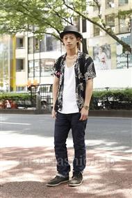 ファッションコーディネート原宿・表参道 2011年07月 ホシさん
