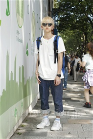 ファッションコーディネート原宿・表参道 2011年07月 鈴木龍哉さん