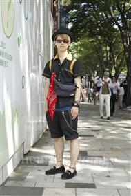 ファッションコーディネート原宿・表参道 2011年07月 遠藤 駿さん