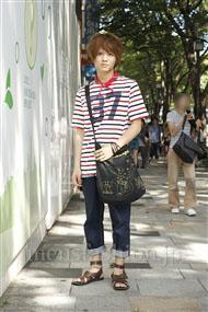 ファッションコーディネート原宿・表参道 2011年07月 塚越雄喜さん