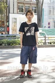 ファッションコーディネート原宿・表参道 2011年07月 永田イタルさん
