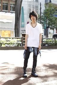ファッションコーディネート原宿・表参道 2011年07月 野村和心さん