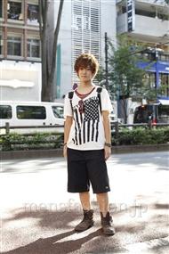 ファッションコーディネート原宿・表参道 2011年07月 大倉士門さん